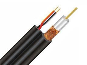 کابل ترکیبی RG59 با برق(متری)